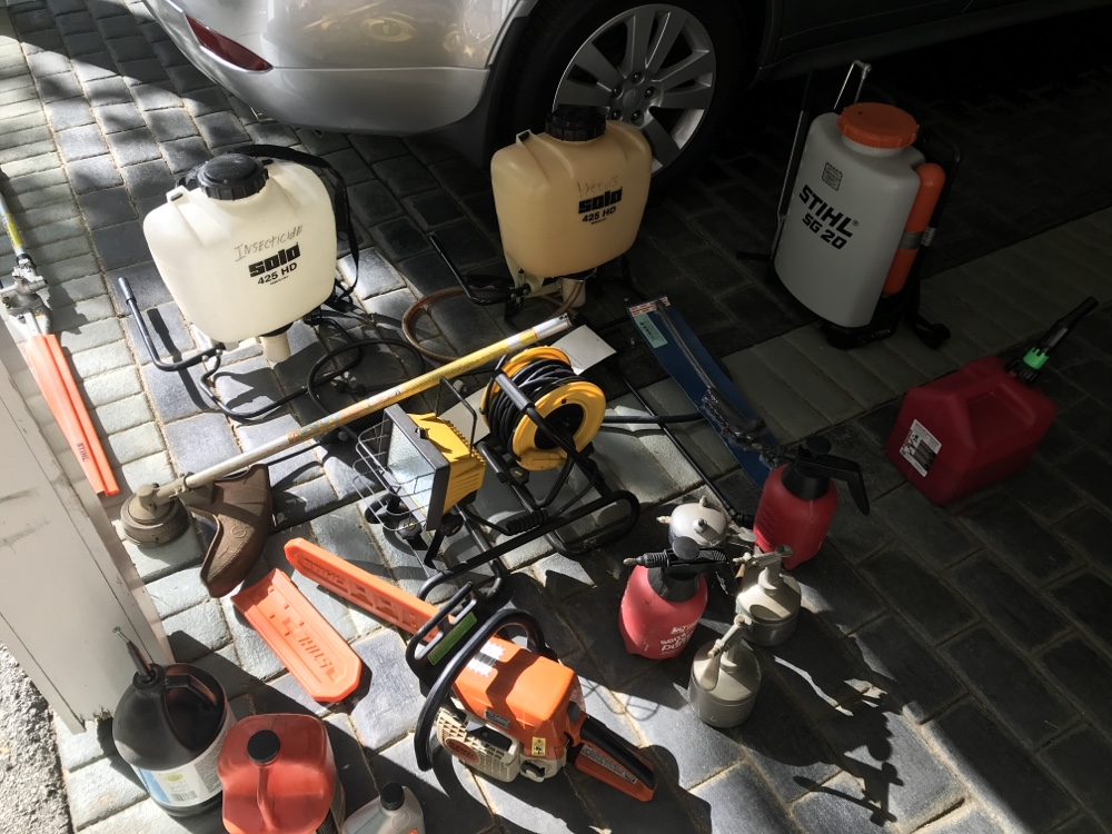 STIHL Products, STIHL Sprayer, STIHL combi, STIHL Chain saw, Solo 425 backpack sprayer