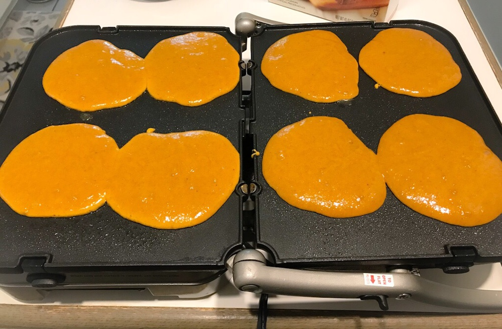 Fall Is Upon Us - Pumpkin Pancakes 4