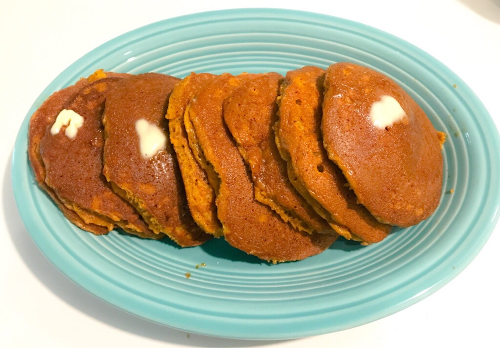 Fall Is Upon Us - Pumpkin Pancakes 6