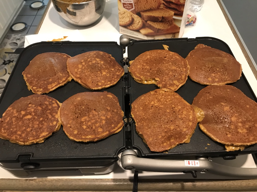 Fall Is Upon Us - Pumpkin Pancakes 5