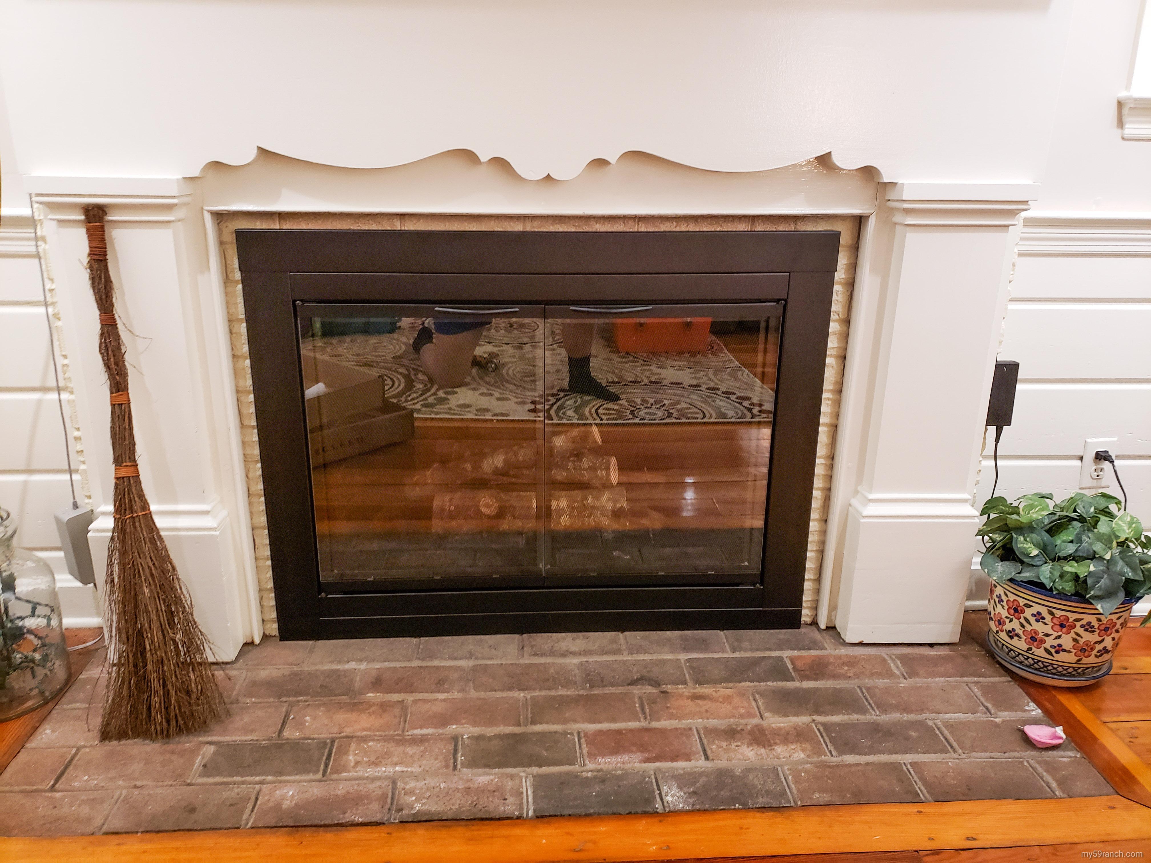 The Best Fireplace Door and Screen 5